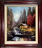 "Away From It All by Thomas Kinkade 24"" x 20"" Gallery Proof"
