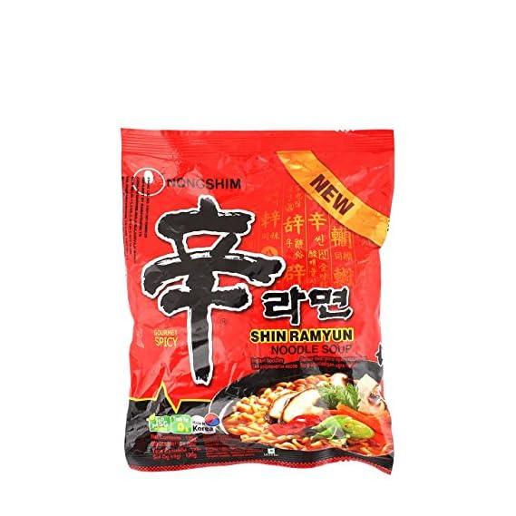 Nongshim Noodle Soup - Shin Ramyun, 120g Pack