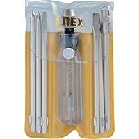 アネックス(ANEX) 検電ドライバーセット 低圧 ブリスターパック 6本組 No.1095-L