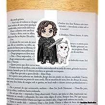 Marca Pagina Magnetico Jon Snow e Ghost