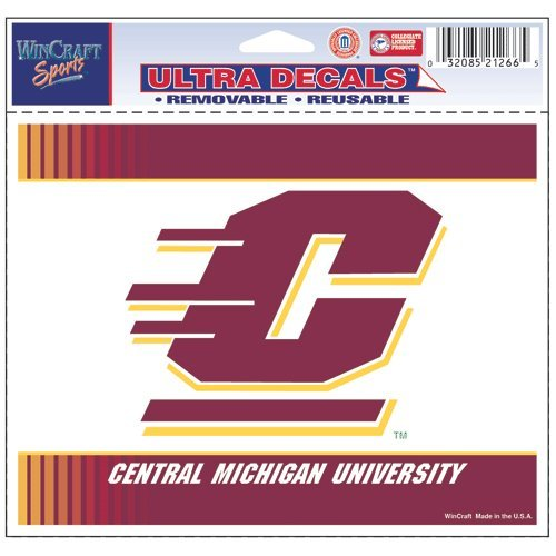 Wincraft NCAA Central Michigan University Multi-Use Colored Decal, 5'' x 6''