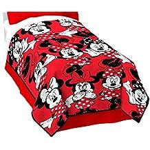 "Disney Minnie Mouse Classic Who Fleece 62"" x 90"" Twin Blanket"
