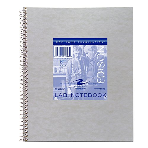 - Roaring Spring Lab Notebook, 11