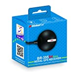 GlobalSat BR-355-S4-5Hz Serial GPS Receiver (Black)