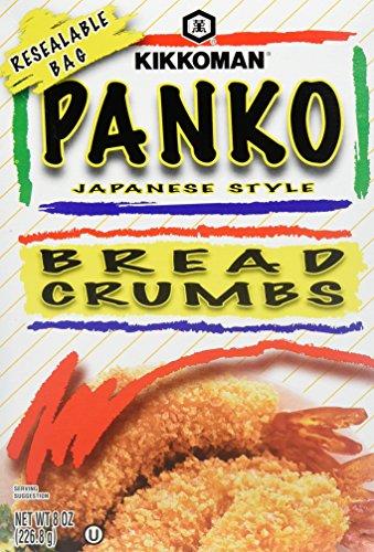 Kikkoman Panko Japanese Style Bread Crumbs, 8 Ounce Box (Pack of 4) by Kikkoman