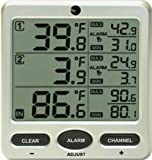 Ambient Weather WS-09-C Wireless 8-Channel Thermometer Console with Min/Max Display