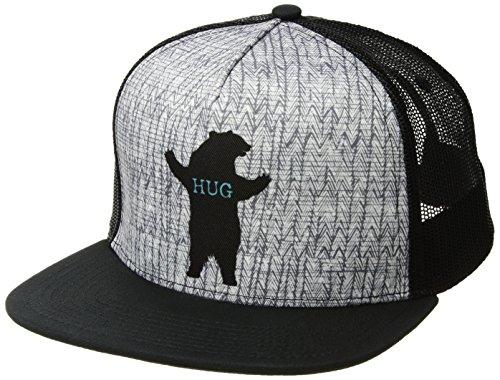 prAna Journeyman Trucker, Charcoal Bear Hug, One - Bear The Hut