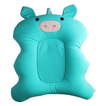 Amazon.com : Soft Baby Bath Pillow Pad Infant Lounger Air Cushion ...
