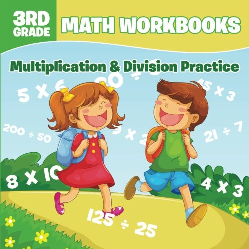3rd Grade Math Workbooks: Multiplication & Division Practice