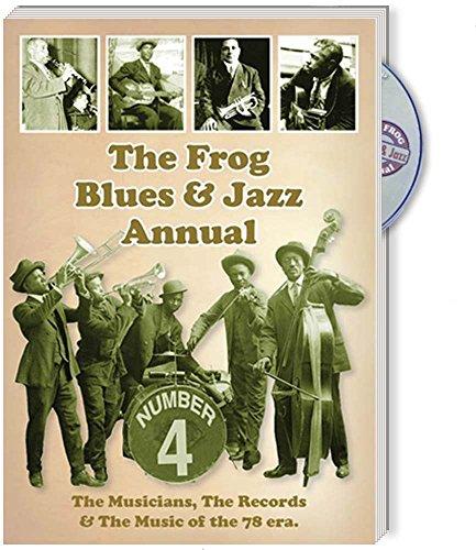 Book cover from The Frog Blues & Jazz Annual No. 4 by Bruce Bastin, Micheal Hortig, Alec van de Tuuk, Chris Hillman, D