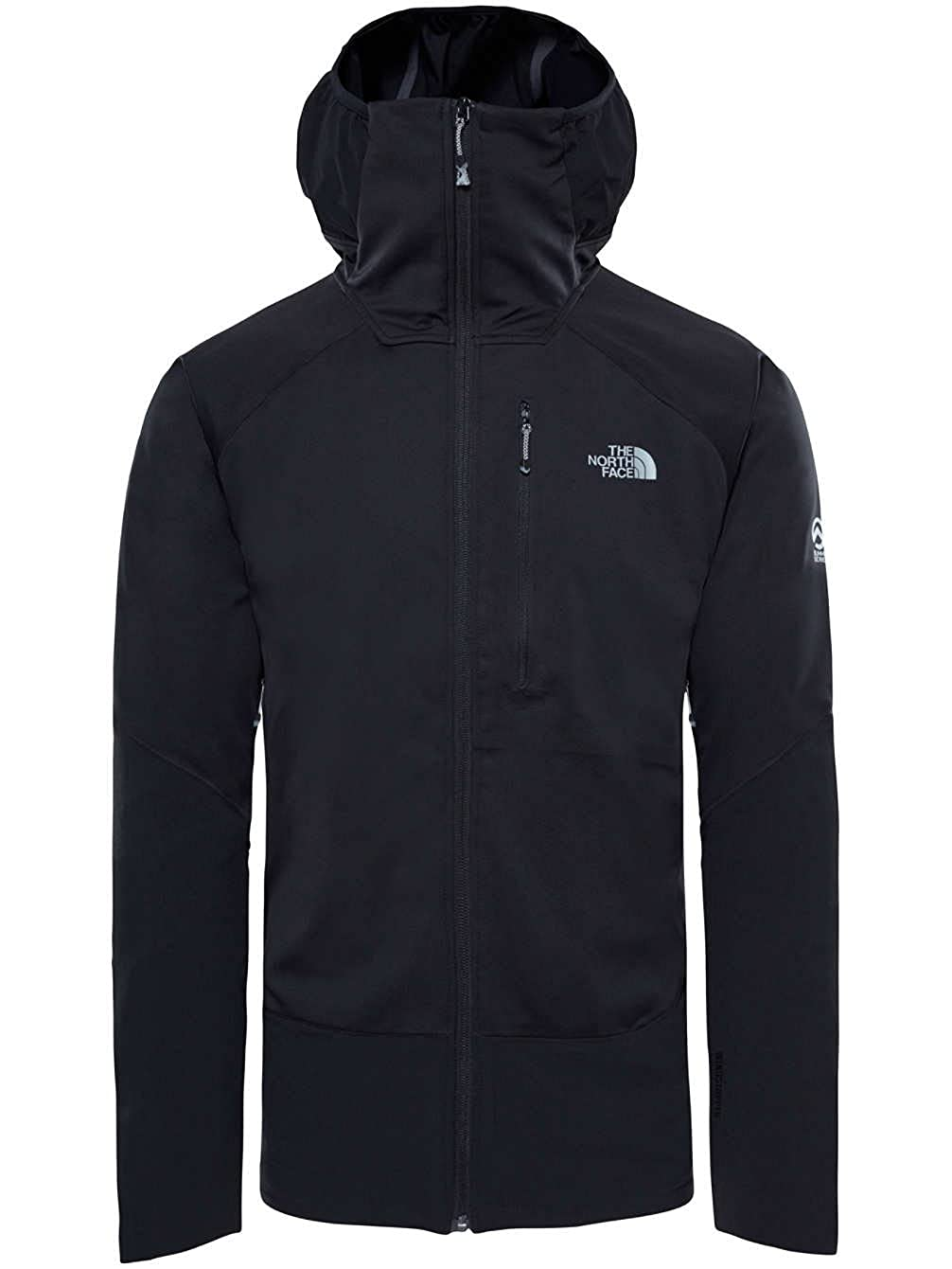 4b11b8a48 The North Face Men's Summit L4 Windstopper Hoodie: Amazon.co.uk ...