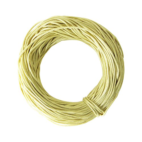EMMAKITES 100~2000lb Braided Kevlar String Utility Cord Mason Line for Kite Bridle Fishing Camping Packing Creative Projects (Lengths / Strengths Options)