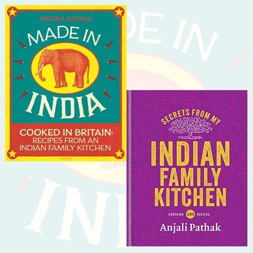 Indian Family Kitchen 2 Books Bundle Collection Made In India