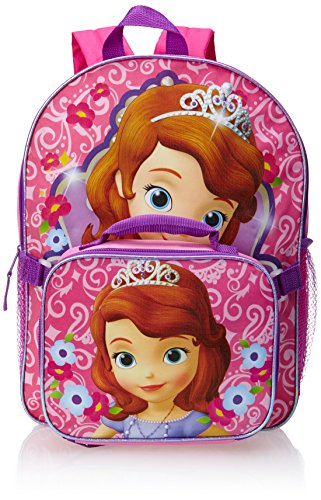 f8421adc14d Disney Little Girls  Princess Sofia Backpack with Lunch Box