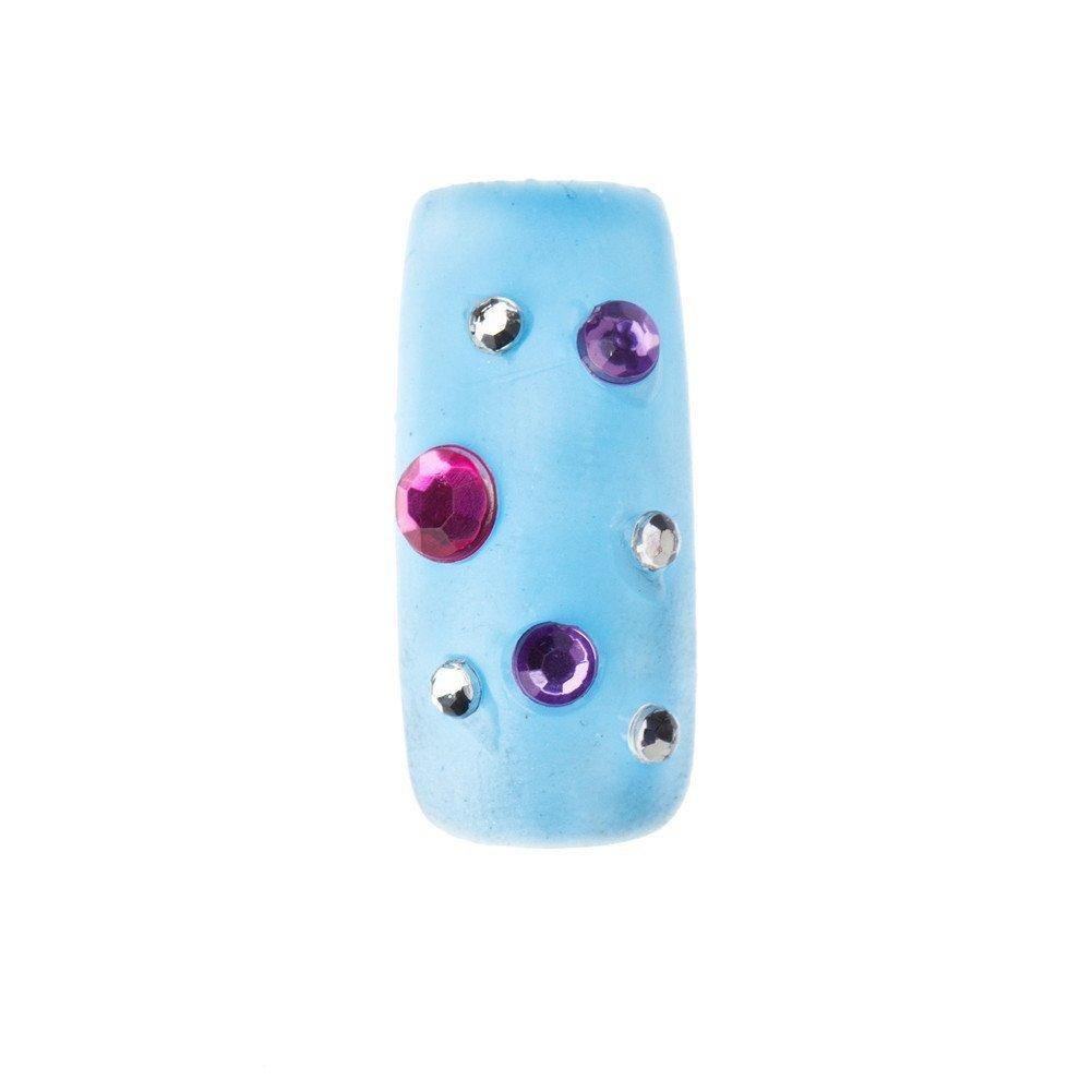 avec un c/ôt/é plat Pack de 1000 Strass Fausses Pierres pr/écieuses 4mm Cristal couleur Violette qualit/é Premium par Cheeky/®