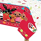 Fancy Me Girls Boys Toddlers Pre School Plastic Tablecover Tablecloth Bing Bunny Flop TV Character Birthday Party Tableware Celebration Decorations Accessories (Tablecover)