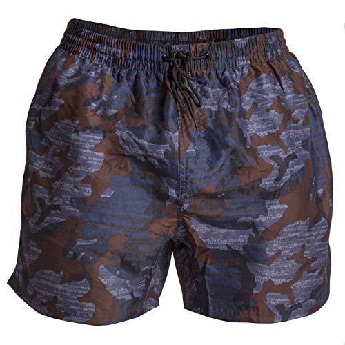 GORILLA WEAR Bailey Shorts - Blue Camo_M