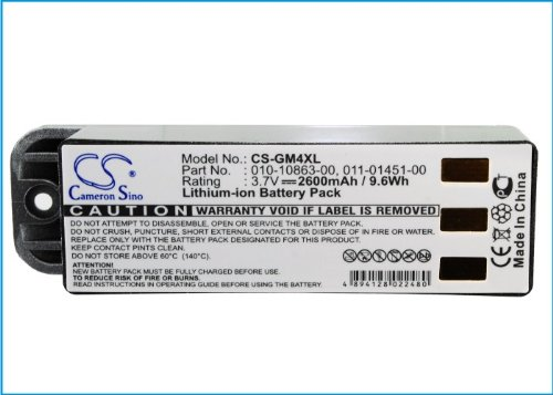 10-10863-00 011-01451-00 Battery - Replacement for Garmin Zumo 500 c 450 c 500 c 550 c500 Deluxe GPS Navigator Batteries (2600mAhc 3.7VcLi-ion )