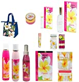 Forever Florals Hawaiian Plumeria Everything Body Care 11 Piece Gift set
