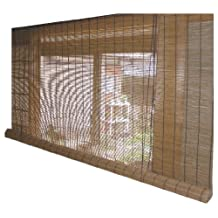 Blind smoked bamboo screen RC-1230