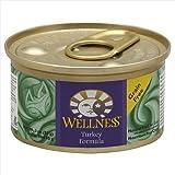 Wellness Turkey Formula Cat Food 6 cans-3oz Each