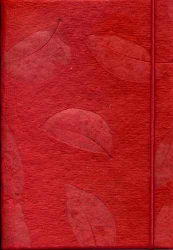 handmade-notebook-real-leaf-imprints-on-red-handmade-paper-notebook-dairy-journal-eco-friendly-paper