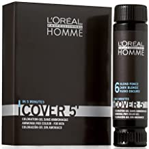 Loreal Professionnel Homme Cover 5 Hair Colour Gel - 6 Dark Blonde by Unknown