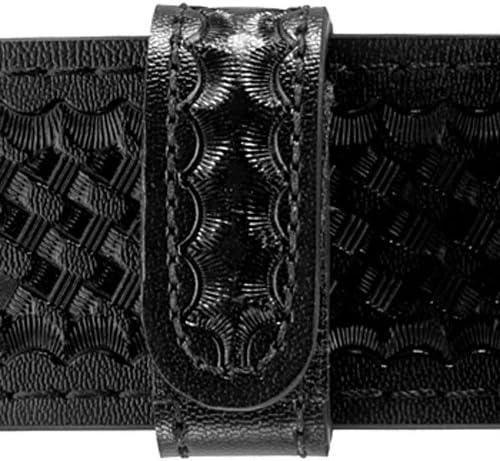 Basketweave Black, single unit Safariland Duty Gear Hidden Snap Belt Keeper