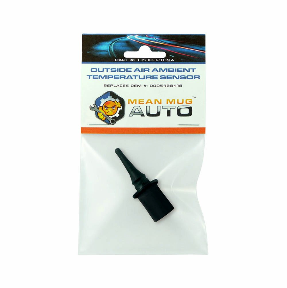 Mean Mug Auto 13518-12019A Outside Air Ambient Temperature Sensor - For: Mercedes-Benz - Replaces OEM #: 0005428418