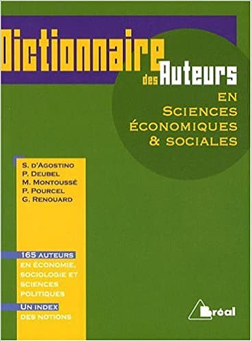 En ligne téléchargement gratuit Dictionnaire des auteurs en sciences économiques & sociales epub, pdf