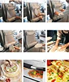 "INTBUYING Pizza Dough Sheeter Crust Maker Stainless Steel Pizza Circle Mold Pizza Bread Dough Making Machine 4""-15"" Pizza Press Dough Roller"