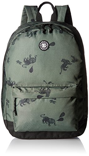 Dc Unisex Backstack Print, VINTAGE GREEN TIGER AMBUSH, One Size