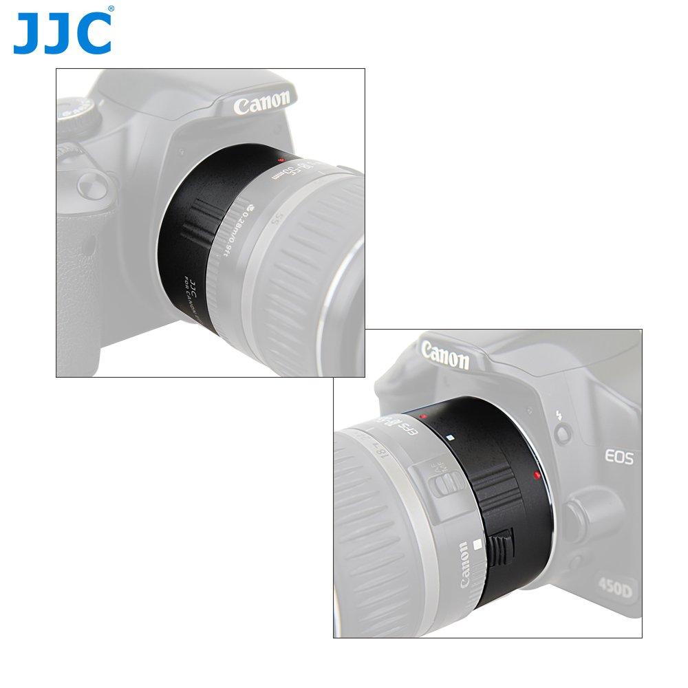 Automatica AF Set 10mm//16mm Metallo Tubo di Prolunga con Messa a Fuoco con Esposizione TTL per Fotografia di Immagini Ravvicinate per Obiettivi e Fotocamere Mirrorless Sony E Mount JJC