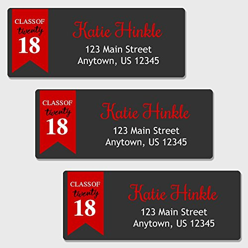 uation Themed Return Address Labels (AL49) (Grad Address Label)