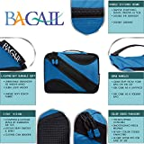 BAGAIL 6 Set Packing Cubes,Travel Luggage Packing