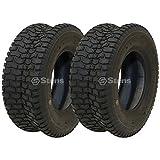 Stens 2 Kenda Tire 16x6.50-8 Turf Rider Tread 4 Ply Tubeless Lawnmower Golf Go Cart 5110961 23061070