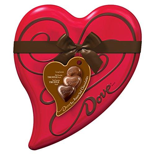 Valentines Chocolate Truffles Heart 6 5 Ounce