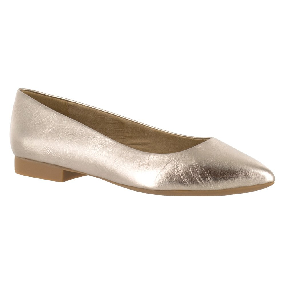 Bella Vita Women's Vivien Flat B01ECY2KUC 9.5 E US|Champagne Leather