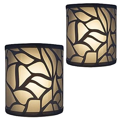 RecPro 2pk | RV Light Fixture | LED 12V | Decorative RV (Camper) Bathroom Wall Light | Sconce Lighting