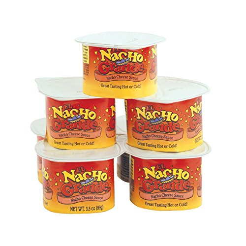 Cups Nacho Cheese (El Nacho Grande Portion Pak Cheese 48/CS (CS))