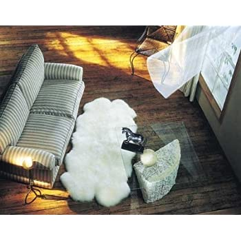 Amazon Com Quad Sheepskin Pelt Rug 4 X 6 From Bowron