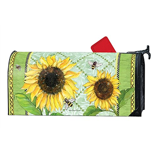 Magnet Works MailWrap - Single Sunflower by MagnetWorks