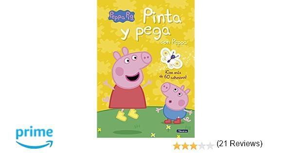 Pinta Y Pega Con Peppa Peppa Pig Actividades Incluye Adhesivos