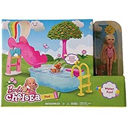 Barbie Chelsea Pool - Water Fun!