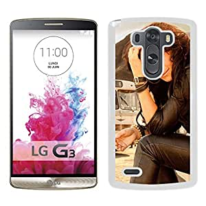 Beautiful Designed Cover Case With Jill Johnson Rela Bus Band Look (2) For LG G3 Phone Case