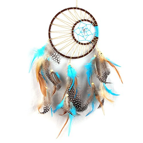 Dream Catcher Cutie Costume (Handmade Dream Catcher with Feathers Wall Hanging Decor Car Ornament Gift Craft)