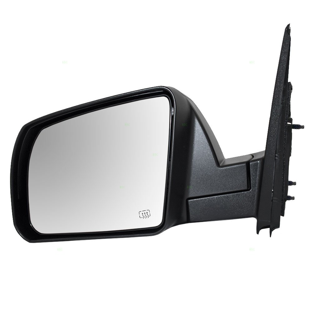 Drivers Power Side View Mirror Heated Textured Replacement for 14-18 Toyota Tundra Pickup Truck 87940-0C460 AUTOANDART