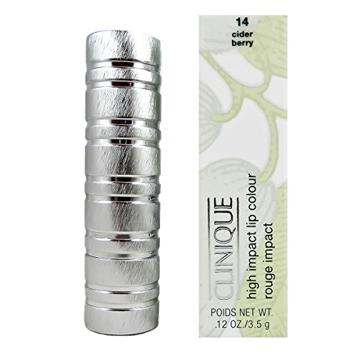 - Clinique High Impact Lip Color, Cider Berry, 0.12 Ounce