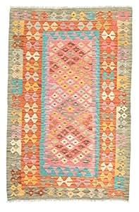 Alfombra Kilim Afghan Old style 99x154 Alfombra Oriental