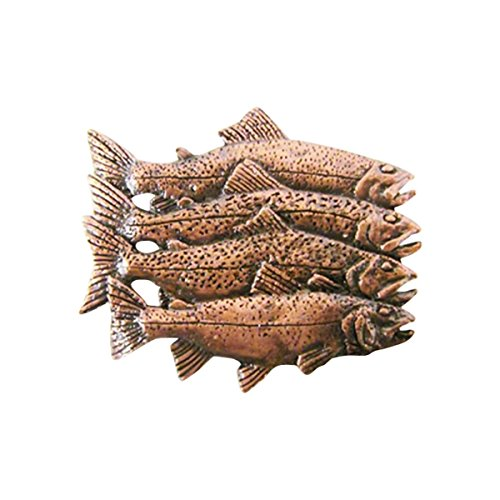 - Collectible Wildlife Gifts Premium Trout Grand Slam ~ Lapel Pin/Brooch ~ CWG-FC012PR ~ Copper